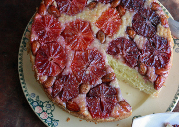 #MondayMuffin: Blood Orange Cake