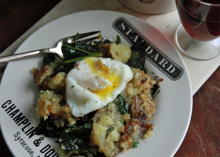 #WednesdayNightSpecial: Kale Bubble and Squeak