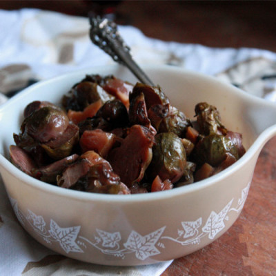 #SidedishStar: Apple Roasted Brussel Sprouts