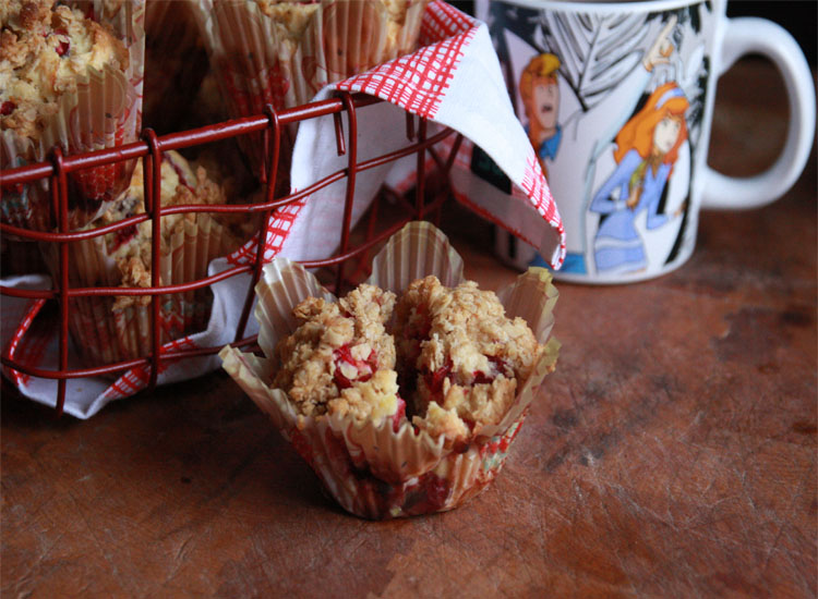 Cranberry Orange Muffins, perfect for Christmas Morning.