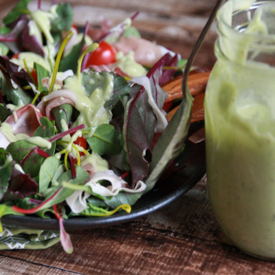 #SundaySupper: Avocado Dressing