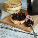 #CelebratingTheHarvest: Blackcurrant and Gin Jam