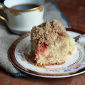 #MondayMorningTreat: Plum Crumb Cake