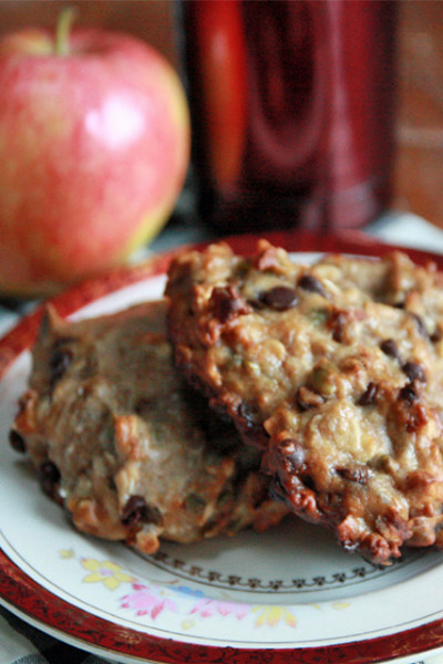 #Choctoberfest: Chocolate Banana Breakfast Cookies
