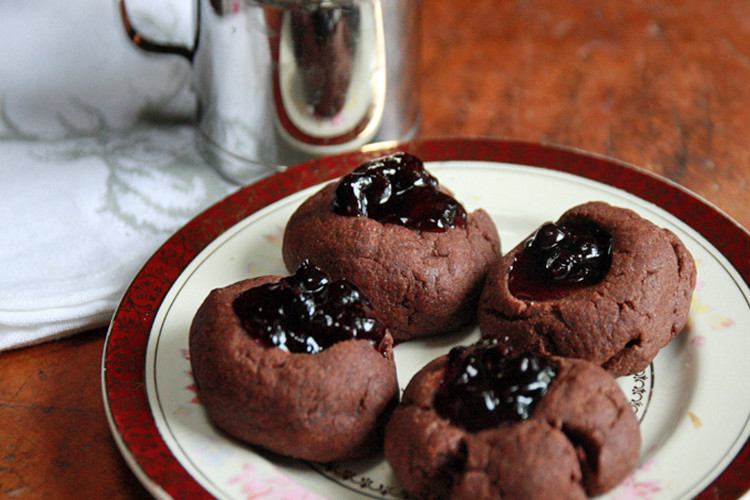 #Choctoberfest: Chocolate Thimble Cookies