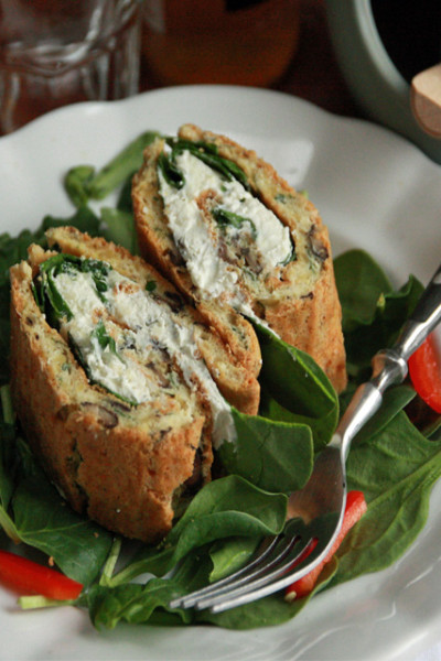 #FreshTastyValentines: Veg and Herb Roll