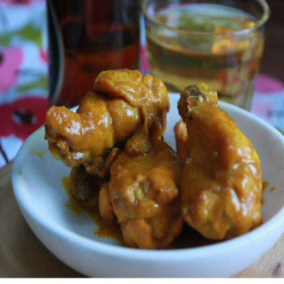#FridayNightTreat: Curry Wings