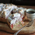 #SundaySupper: Rhubarb Meringue Pie