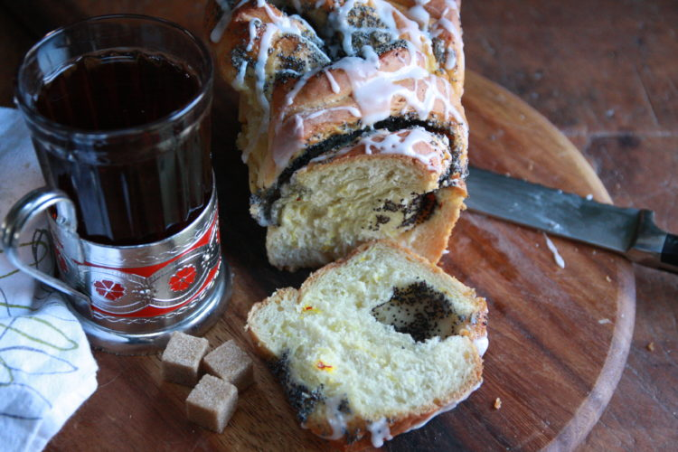 #Brunchweek: Cardamon Saffron Bread