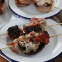 #Brunchweek: BBQ Cheese and Bacon Mushrooms