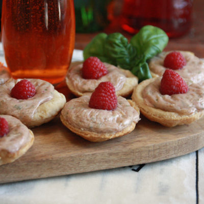 #Brunchweek: Brie and Raspberry Tarts