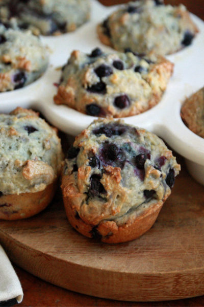 #TuesdayTreat: Blueberry Custard Muffins