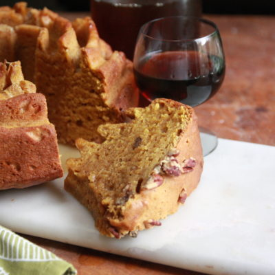 #BundtBakers: Pumpkin Pie Bundt