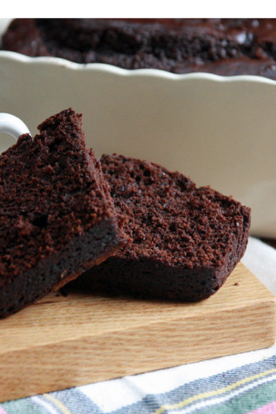 #Choctoberfest: Chocolate Gingerbread Loaf