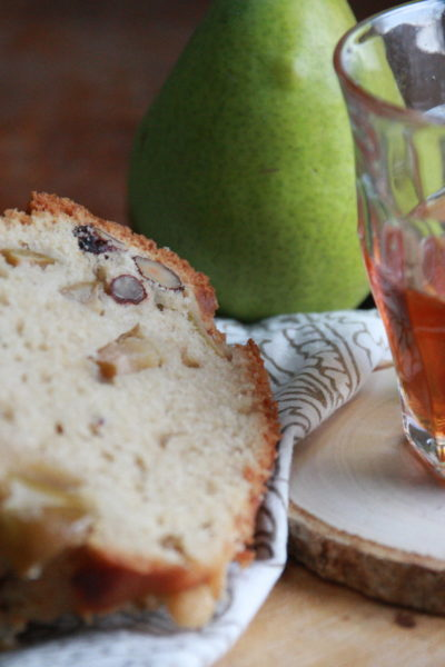 #BundtBakers: Pear and Hazelnut Cake