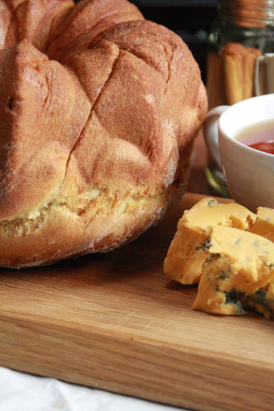 #HandmadeHoliday: Grilled Cheese Bread