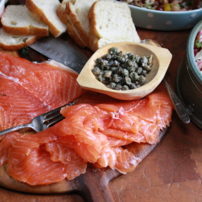 #HandmadeHoliday: Maple Gravlax