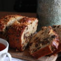 #What'sfortea?: Date and Chocolate Loaf