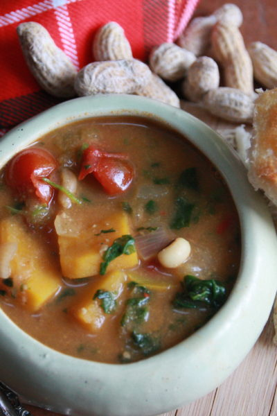 #Soup'sOn: Spicy Peanut Soup