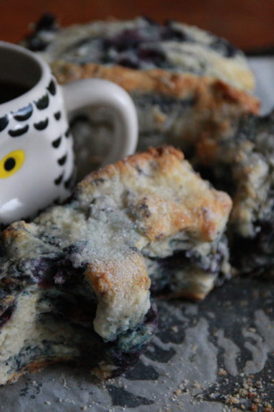 #FridayNightTreat: Blueberry Biscuits