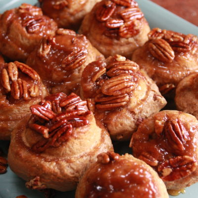 #Brunchweek: Pecan Gingerbread Buns