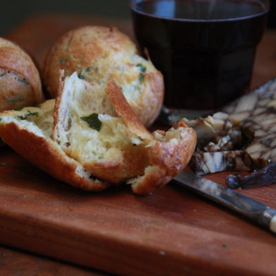 #Brunchweek: Chive and Cheese Popovers