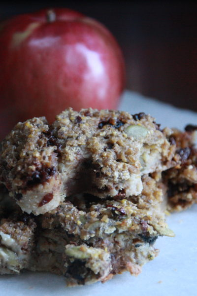 #Choctoberfest: Chocolate and Oat Breakfast Bars